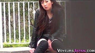 Japanese whore rubbing