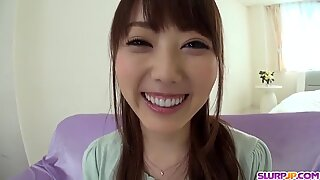 Rei Furuse in super steamy Asian POV s - More at Slurpjp.com