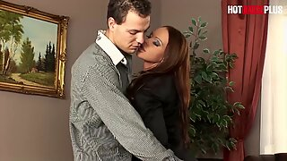 HotBabesPlus - Teen Secretary Christina Bella wants Anal SEX with her Boss