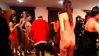 Euro college students fancy sex Xmas party