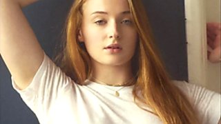 Sophie Turner - GOT - 2 Minute Jerk-Off-Challenge - Cum Now