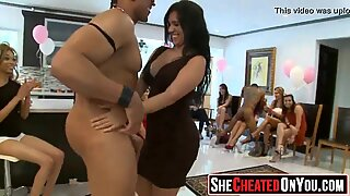 58 milfs taking super-hot loads at secret CFNM soiree!09