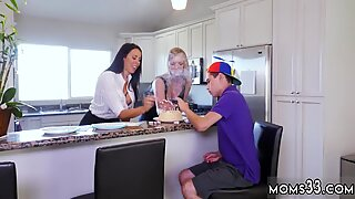 Big tit milf strapon Hot MILF For His Birthday - Reagan Foxx