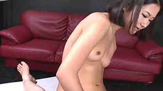Sweet Asian hoe Kyoka Sono wanna ride tiny dick of her BF a bit