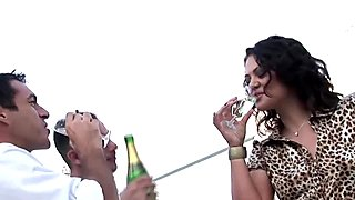Classy party turns into a fuck fest