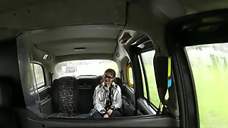 Horny teen Lucie gets banged in the cab