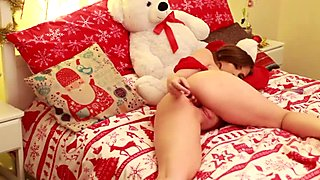 Christmas double stuffed toys