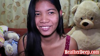 16 week pregnant thai teen heather deep dido creamy squirt