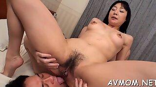 Foot fetish dirty mom