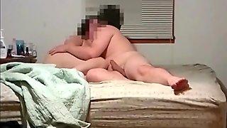 Cumming Inside Of My BBW Slut Wife's Pussy