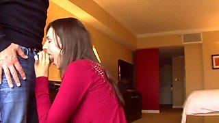 Homemade sex in hotel and cum in mouth -991cam.com