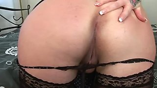 MILF Tattiana having fun with a cock