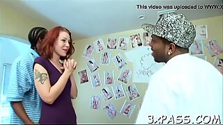 Watch interracial scene now