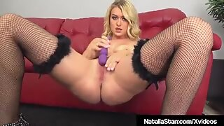 Finger Fucking Queen Natalia Starr Stuffs Her Juicy Wet Muff