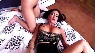 Jade And Jessica Take Big Schlong In Bedroom