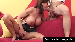 naughty Housewife Deauxma Gets smashed rectally & Gets Cummed On
