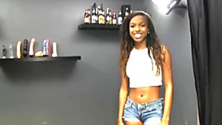 POV Wars Young Black girl lets 5 stranger fuck her one after another and lets them video tape it.