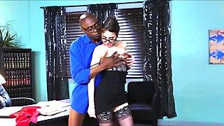 Sean eats Riley Reids sweet pussy