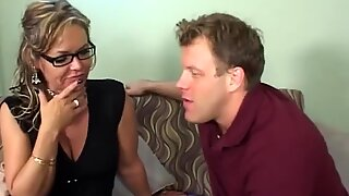 Horny Stepmom Takes Advantage Of Her Stepson