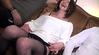 Nice pussy anal cum swap