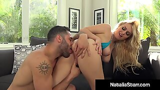 Pussy Pounded Fox Natalia Starr Gets Her Soaked Snatch Fucked & Cummed On!