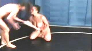 Bust Babes Nude Wrestling