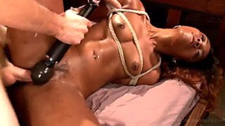 Chanell Heart In Bondage With Rough Sex