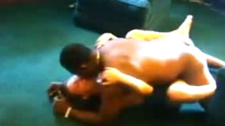 Skinny white wife submits to black man in front of hubby
