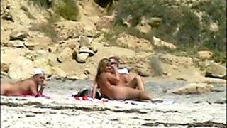 Nude Beach Wankers 03