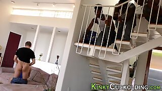 Cuckolder blows black rod