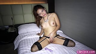 Post-Op Ladyboy Baithong Bareback Action