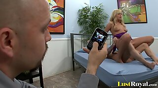 Dude Films A Pretty Blonde Darcy Taylor Getting Fucked - Darcy Tyler