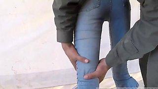 Brunette teen finger bangs xxx slim teen deepthroats
