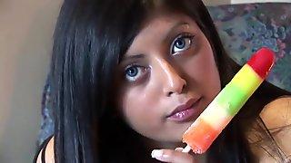 Indian - Sexy Curvy Jasmin Solo Masturbation Part 1-5