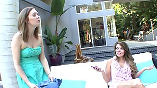 MILF Stepmom seduces a teen