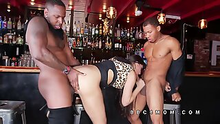 Mercedes Carrera fucked by big blacks