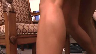 Amazing Zoey bounces on a throbbing pole