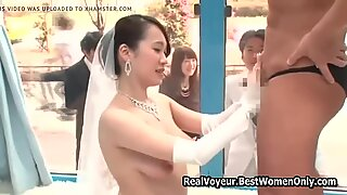 Japanese Asian Wedding Sex Public Glass Walls 2