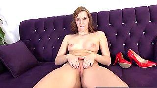 Crazy Morgan Blanche fills up her holes