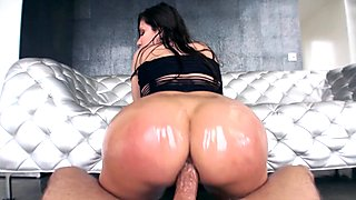 Alexa Nicole gets butt plug and cock in her hot ass