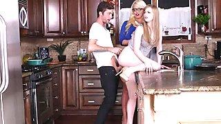 Dolly and Alura banged by horny boyfriend