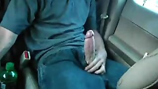Stroking and Cumming in Public