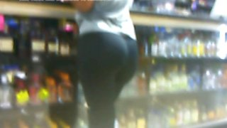 Candid liquor store ass part 2