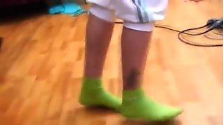 Russian amateur teenies have fun